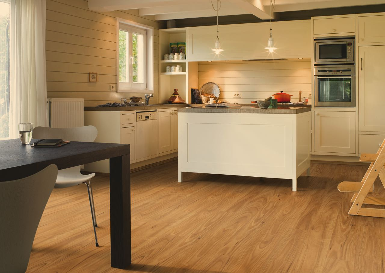 Laminate flooring installed in a home in Adelaide